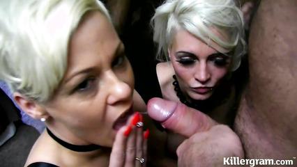 Любительское порно с классными блондинками